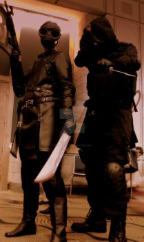 Resident Evil Cosplayers by IndecorusArt