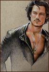 Luke Evans - coloured sketch by Cataclysm-X
