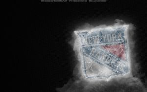 New York Rangers Ice by bbboz