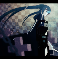 Black Rock Shooter by felitomkinson