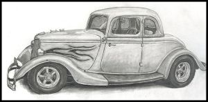 '33 Ford by krazykohla