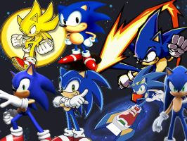 Sonic is Everywhere by Greiga