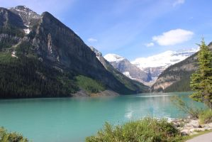 Summer Scenes - Lake Louise3 by Qrinta
