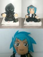 Homemade Jellal Plushie by Sirup-chan