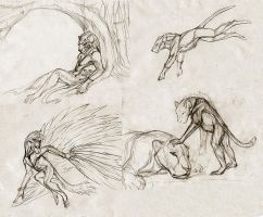 Haynas - sketches. by hontor