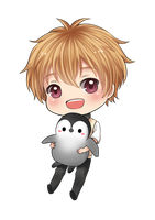 Penguin Nagisa by nayumi-green