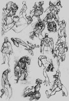 Sketch Dump 2012 by AfuChan