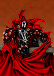 Spawn on Cross - Digital Paint by TigerK0690