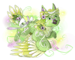 Lavender Mint Cockabudgie [Closed] by Hootsewers