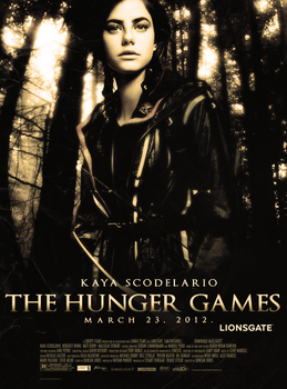 The Hunger Games poster by Hesavampire