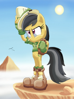 Sonitized Daring Do by BlehMaster7
