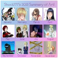 2013 Summary of Art by shock777