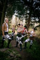 Attack on Titan: Survey Corps Cosplay by GoldenMochi