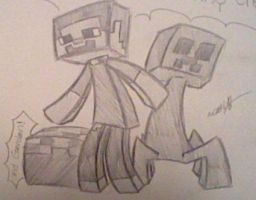 New MineCraft Style by Gravitii-CS