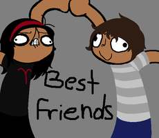 BEST FRIENDS FOREVER by Animeprincess1990