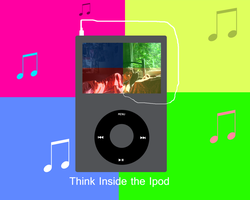 Think Inside The Ipod by sumangal16