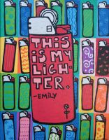this is my lighter by emilyrosecaspe