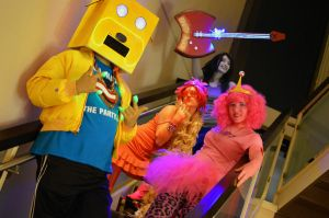 Party Rock Adventure Time! by sadnesssuccubus