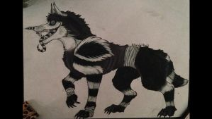 Laughing Jack Wolf by KillerWolfPack