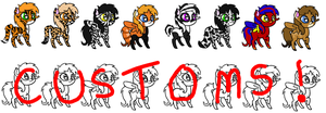 CHEAP ANIMAL THEMED PONY ADOPTS! - OPEN!! by Prettyxmouse