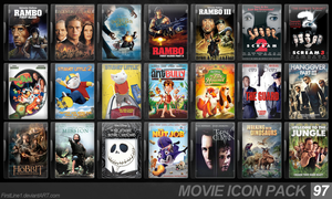Movie Icon Pack 97 by FirstLine1