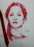 Jennifer Lawrence by KafleSunEalArtist