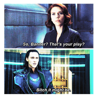loki x natasha by queenlaufeyson