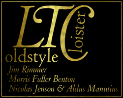 LTC Cloister, gold leaf by chemoelectric