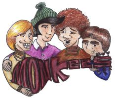 The Monkees by estranged-illusions