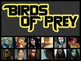 The CW Series Casting: Birds of Prey by Myths-of-Genesis