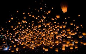 Sky Lanterns by mnjul