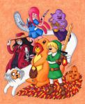 Adventure Time Halloween by kataiya