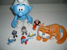 Smurfy stuff from Belgium by UncleGargy