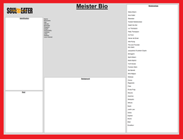 Soul Eater Meister Bio Base by TheDeavilBases