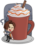 Salted Caramel Cocoa by ecokitty
