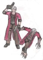 Dante in Resident Evil Request by DanteVergilLoverAR