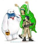 Big Hero 6-Ghostbusters by sketchditto