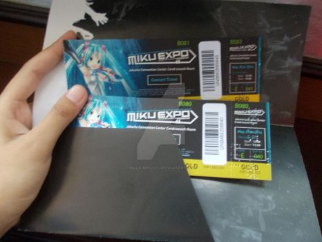 Miku Expo in INDONESIA [Ticket] by Billa-Neko27