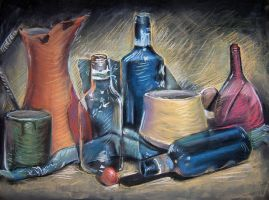 still life, hues by bangalore-monkey