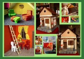 The Dolls House WIP2 by youngmoons
