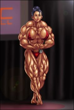 ASIAN FBB CONTEST POSE by B9TRIBECA