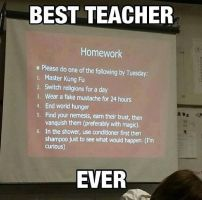 Best Teacher Ever by PassionateMasochist