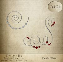 Beaded Wire by shelldevil