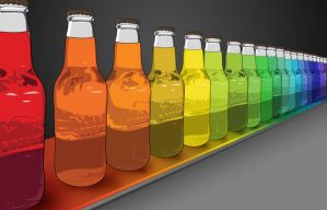 Bottles Vector by omelets4sqwerls