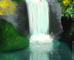 Waterfall by Dekanh