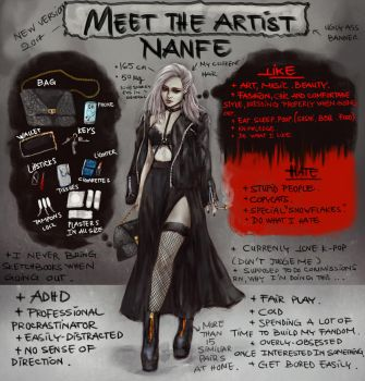 Meet The Artist 2017 by NanFe