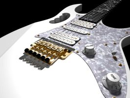 3D Ibanez Jem by AEvilMike