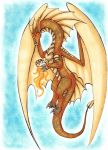 Drakonis the dragoness of the sun by Drrrakonis