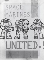 Space Marines United by antibioradiohazard