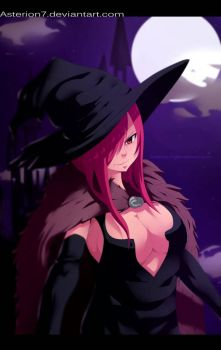 Fairy tail Erza walloween by asterion7 by Asterion7